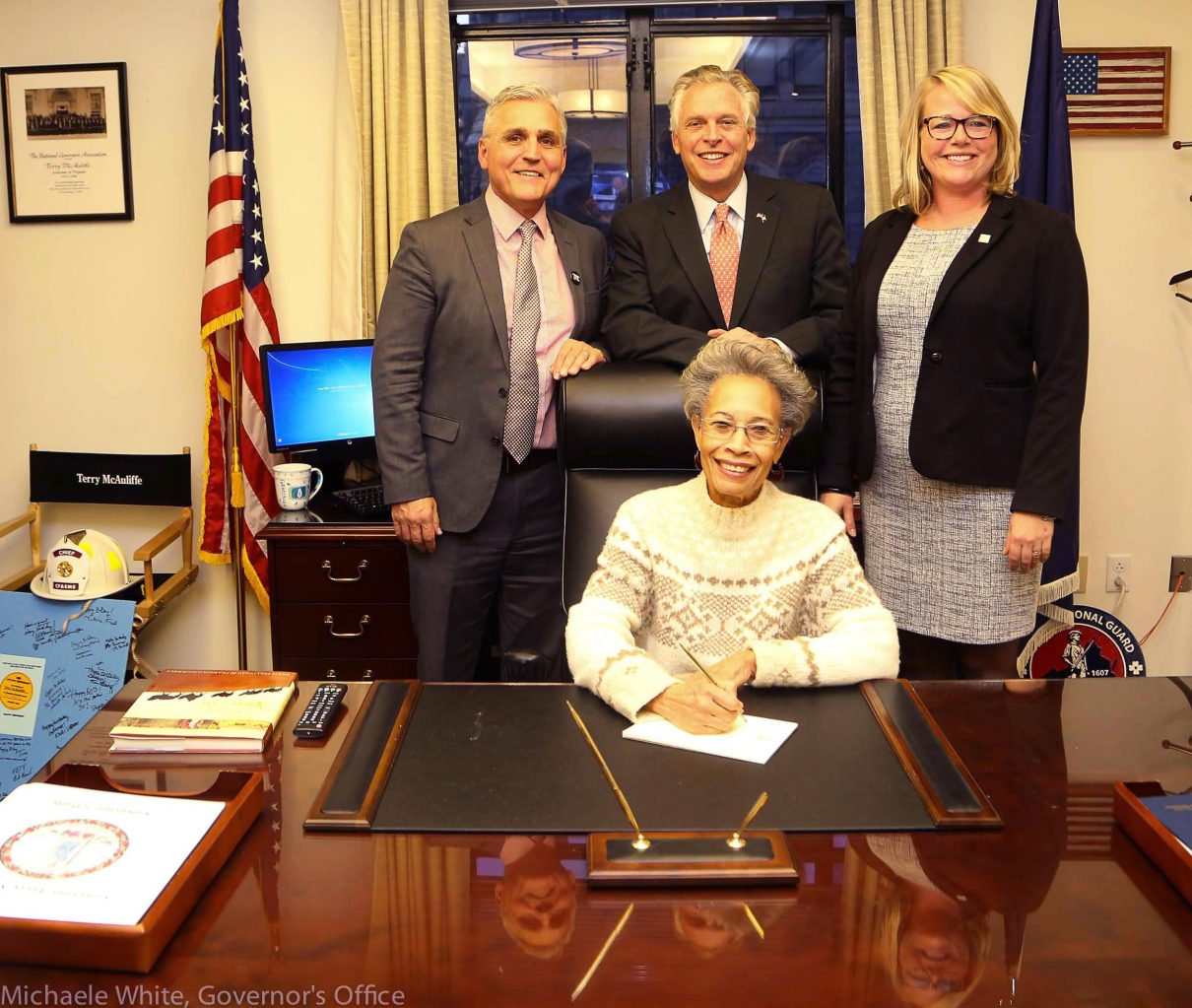 Governor of Virginia Terry McAuliffe
