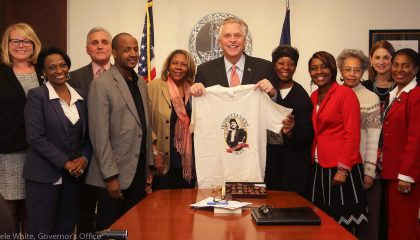 Governor of Virginia Terry McAuliffe